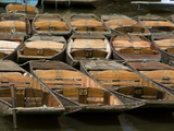 Boats Used for Punting in the Canals of Oxford
