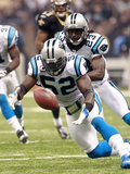 Panthers Saints Football: New Orleans  LA - Jon Beason