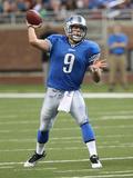 Redskins Lions Football: Detroit  MI - Matthew Stafford