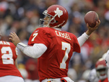 Cowboys Chiefs Football: Kansas City  MO - Matt Cassel