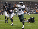 Eagles Bears Football: Chicago  IL - LeSean McCoy