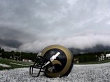 Rams Camp Football: Mequon  WISCONSIN - A St Louis Rams Helmet