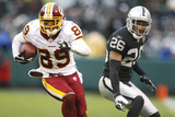 Redskins Raiders Football: Oakland  CA - Santana Moss