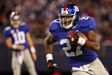 Cardinals Giants Football: East Rutherford  NJ - Brandon Jacobs