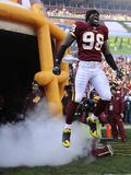Saints Redskins Football: Landover  MD - Brian Orakpo