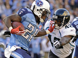 Jaguars Titans Football: Nashville  TN - Chris Johnson