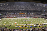 Giants Saints Football: New Orleans  LA - Louisiana Superdome Panorama