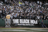Redskins Raiders Football: Oakland  CA - The Black Hole