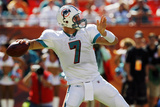 Buccaneers Dolphins Football: Miami  FL - Chad Henne