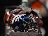 Bears Broncos Football: Denver  CO - Denver Broncos Helmet