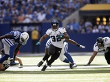 Jaguars Colts Football: Indianapolis  IN - Maurice Jones-Drew