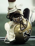 NFL Historical Imagery: New Orleans Saints Helmet