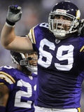 Bears Vikings Football: Minneapolis  MN - Jared Allen
