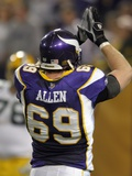 Packers Vikings Football: Minneapolis  MINNESOTA - Jared Allen