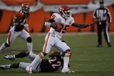Chiefs Bengals Football: Cincinnati  OH - Jamaal Charles
