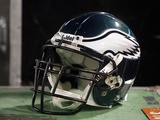 Eagles Jets Football: East Rutherford  NJ - Philadelphia Eagles Helmet