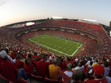 Seahawks Chiefs Football: Kansas City  MO - Arrowhead Stadium