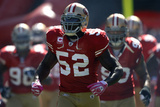 Rams 49ers Football: San Francisco  CA - Patrick Willis