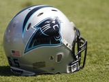 Eagles Panthers Football: Charlotte  NC - Carolina Panthers helmet