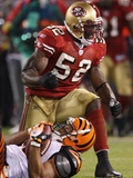 Bengals 49ers Football: San Francisco  CA - Patrick Willis