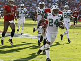 Jets Buccaneers Football: Tampa  FL - Darrelle Revis