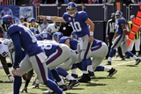 Raiders Giants Football: East Rutherford  NJ - Eli Manning