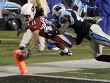 APTOPIX Cardinals Panthers Football: Charlotte  NORTH CAROLINA - Larry Fitzgerald