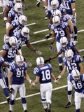 Bears Colts Football: Indianapolis  INDIANA - Peyton Manning