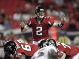 Ravens Falcons Football: Atlanta  GA - Matt Ryan