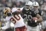 Redskins Raiders Football: Oakland  CA - Darren Mcfadden