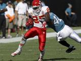 Chiefs Jaguars Football: Jacksonville  FL - Jamaal Charles