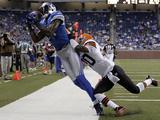Browns Lions Football: Detroit  MI - Calvin Johnson
