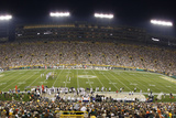 Bears Packers Football: Green Bay  WI - Lambeau Field Panorama