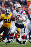 Patriots Broncos Football: Denver  CO - Tom Brady