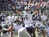 Patriots Jets Football: East Rutherford  NJ - Mark Sanchez