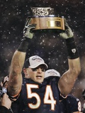 Saints Bears Football: Chicago  ILLINOIS - Brian Urlacher