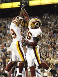 VIKINGS REDSKINS FOOTBALL: LANDOVER  MARYLAND - Santana Moss