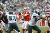 Chiefs Eagles Football: Philadelphia  PA - Matt Cassel