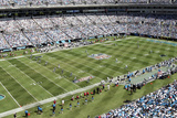 Eagles Panthers Football: Charlotte  NC - Bank of America Stadium Panorama