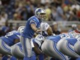 Colts Lions Football: Detroit  MI - Matthew Stafford