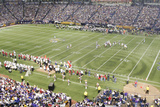 49ers Vikings Football: Minneapolis  MN - Hubert H Humphrey Metrodome Panorama