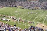 49ers Vikings Football: Minneapolis  MN - Hubert H Humphrey Metrodome Panorama