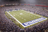 Bears Colts Football: Indianapolis  INDIANA - Lucas Oil Stadium Panorama