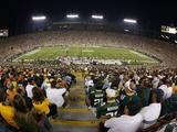Bears Packers Football: Green Bay  WI - Lambeau Field