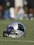 Panthers Camp Football: Spartanburg  SOUTH CAROLINA - A Carolina Panthers Helmet