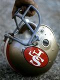 NFL Historical Imagery: San Francisco 49ers helmet