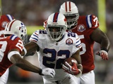 Bills Patriots Football: Foxborough  MA - Fred Jackson
