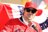 Los Angeles Angels of Anaheim  CA - December 10: Newly Signed CJ Wilson