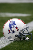 Patriots Broncos Football: Denver  CO - Patriots Throwback Helmet