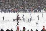 Colts Bills Football: Orchard Park  NY - Bills and Colts in the Snow